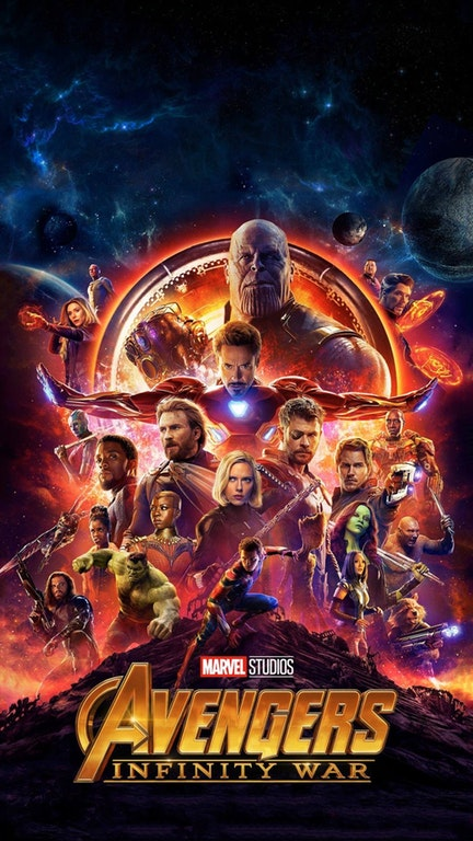 Avengers Infinity War ios android wallpaper