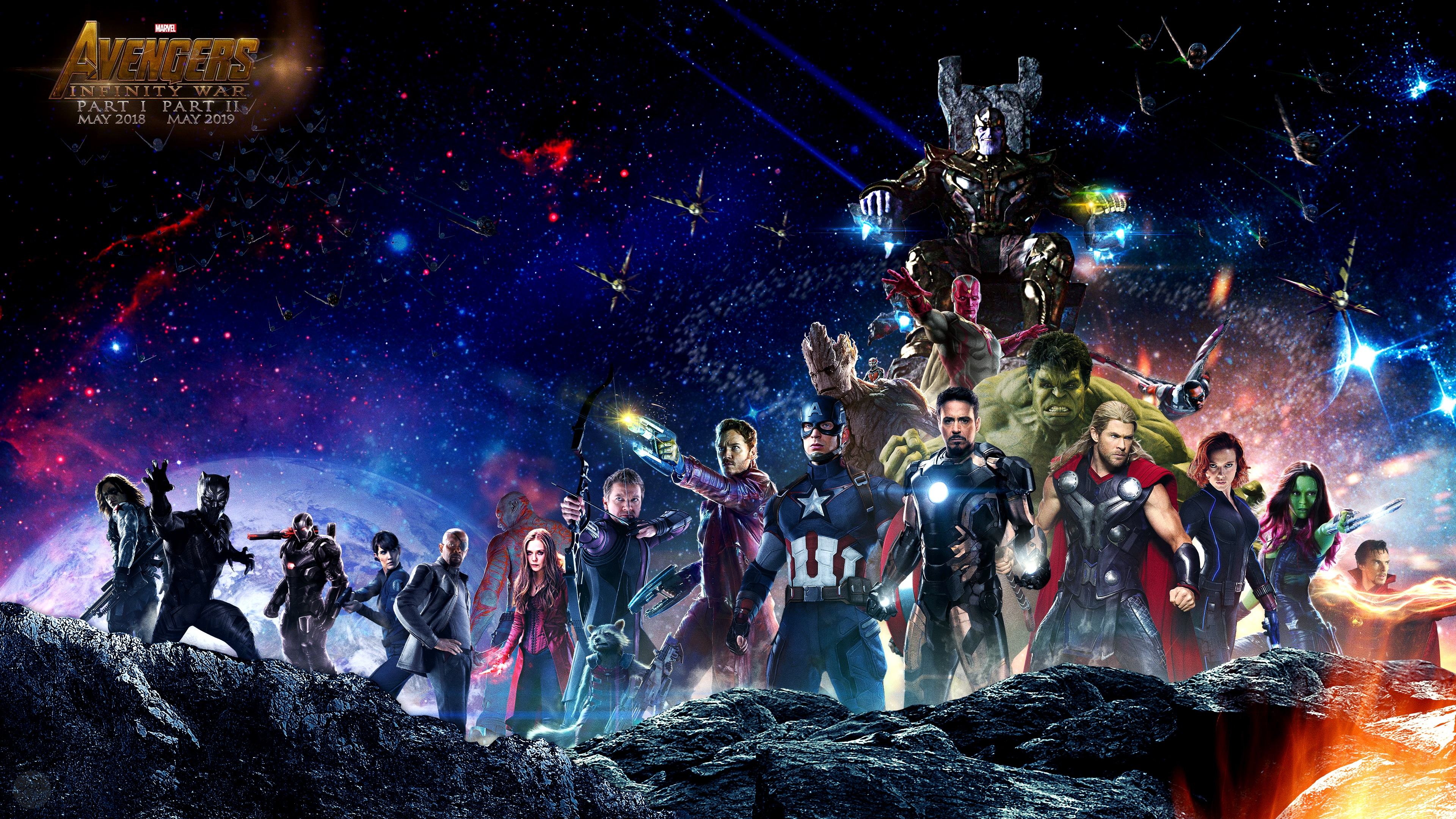 Avengers Superhero Infinity War 4K UHD Download