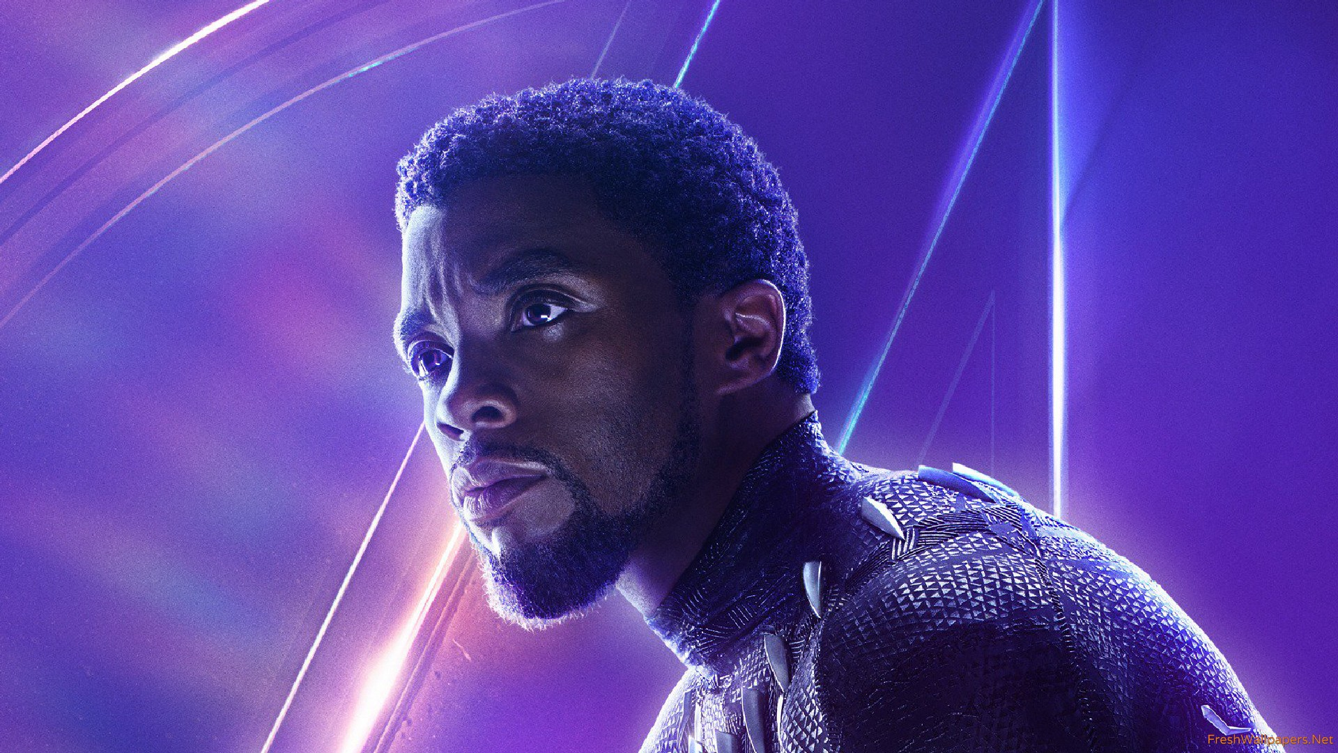 Black Panther In Avengers Infinity War New Poster wallpaper