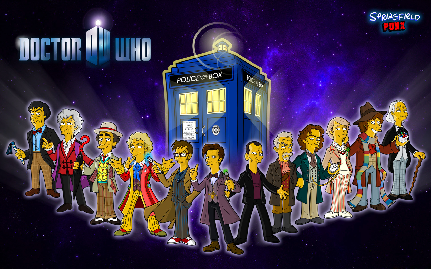 Doctor Who Wallpaper High Quality simpsons