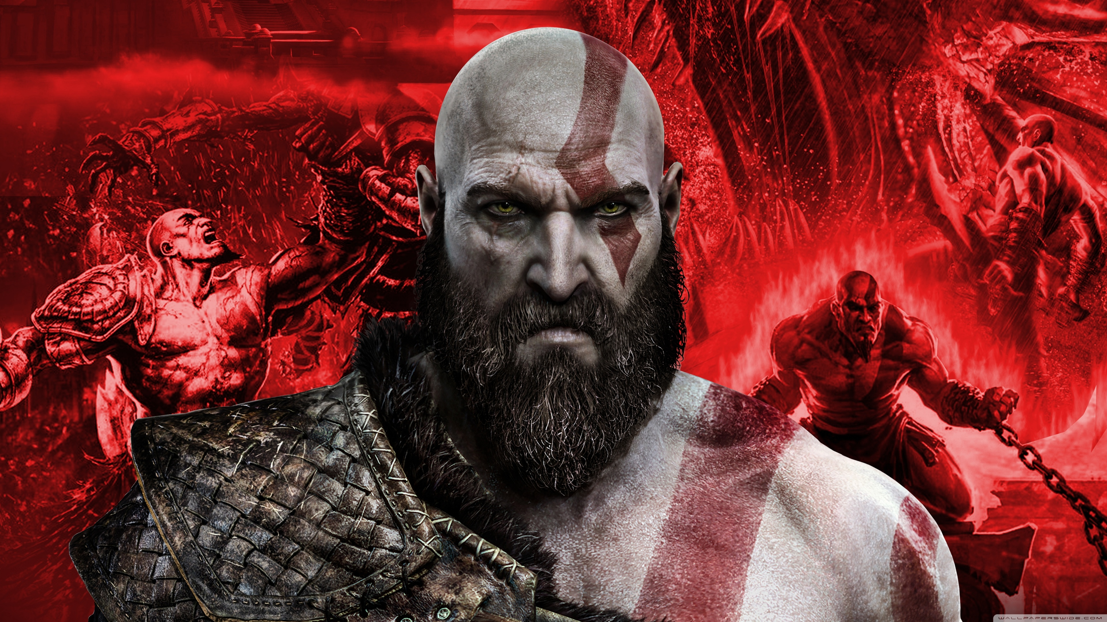 Best of Kratos 4K HD Desktop Wallpaper for 4K Ultra HD