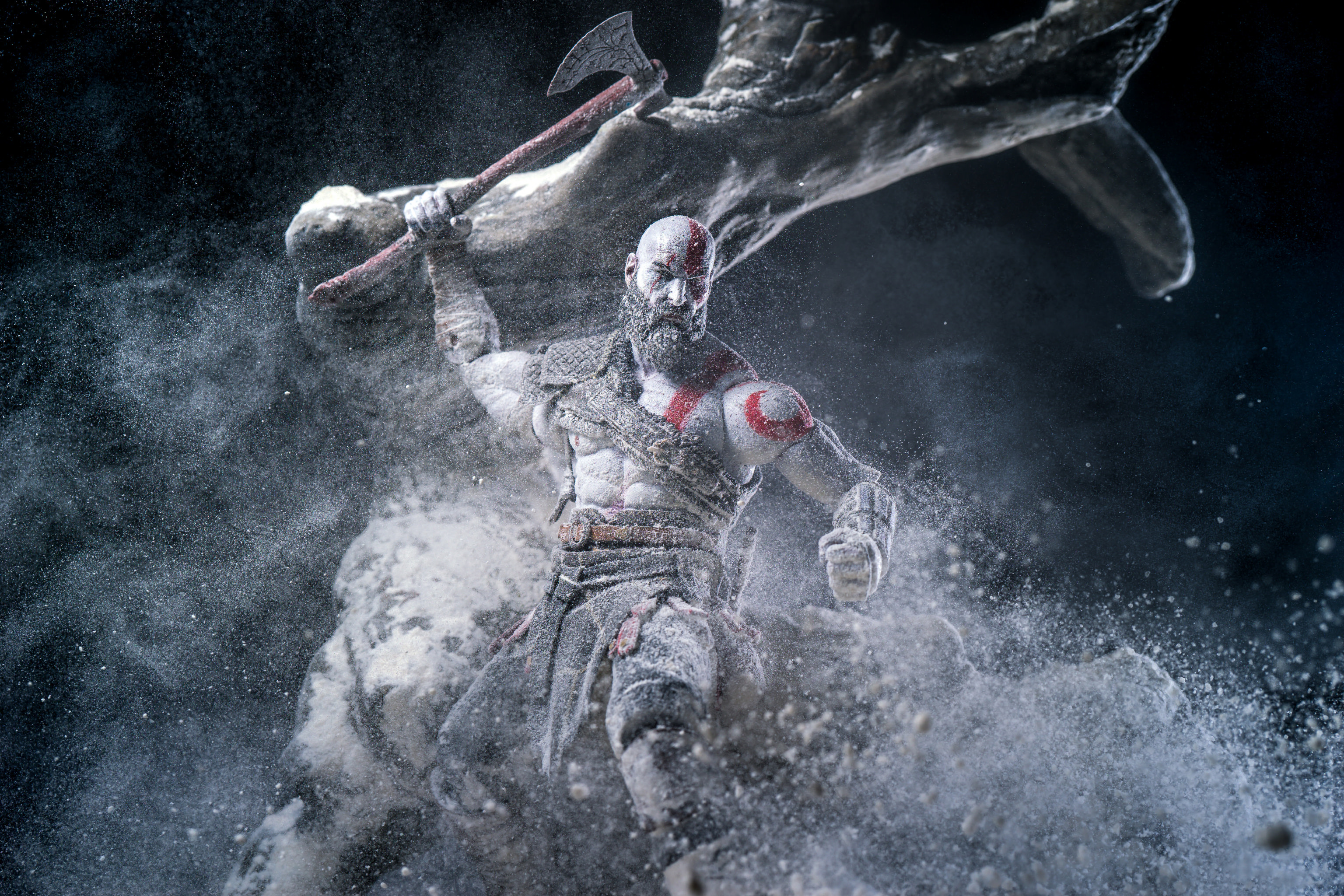 Kratos Wallpaper 4K