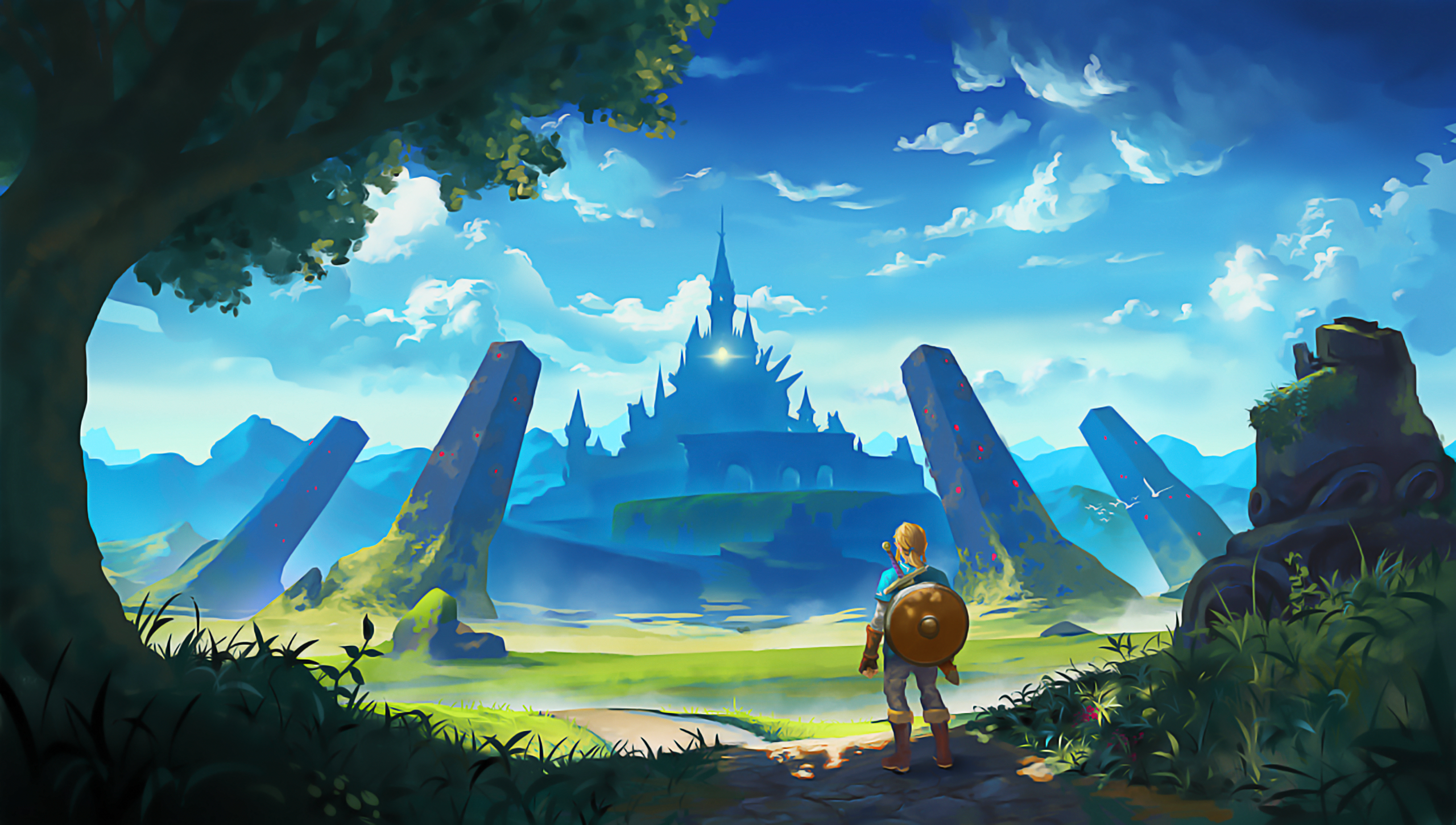 The Legend of Zelda Breath of the Wild Full HD Wallpapers