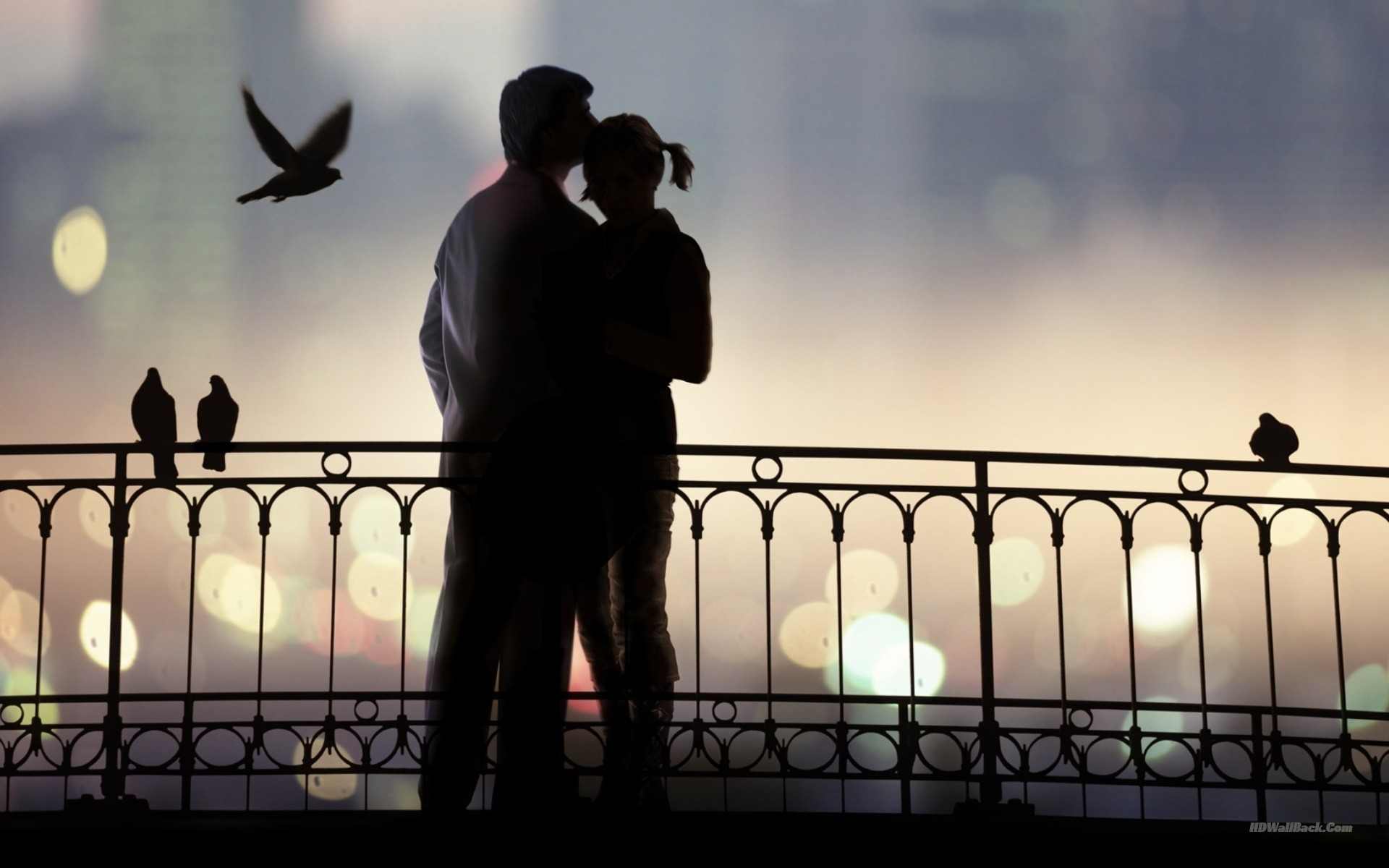 Background Love Couple Wallpapers