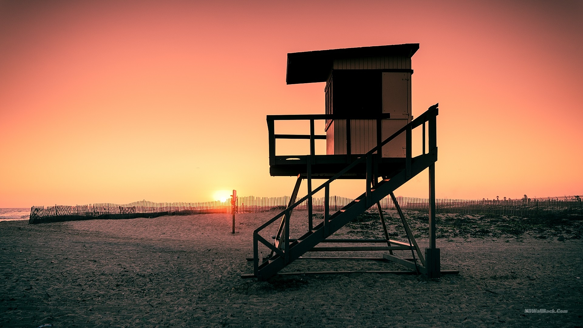 Lifeguard tower wallpapers