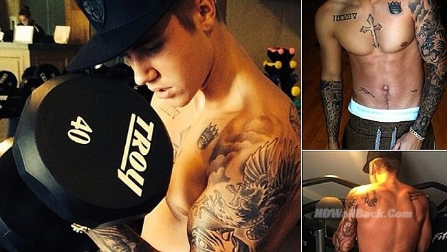 Justin Bieber Body Pictures