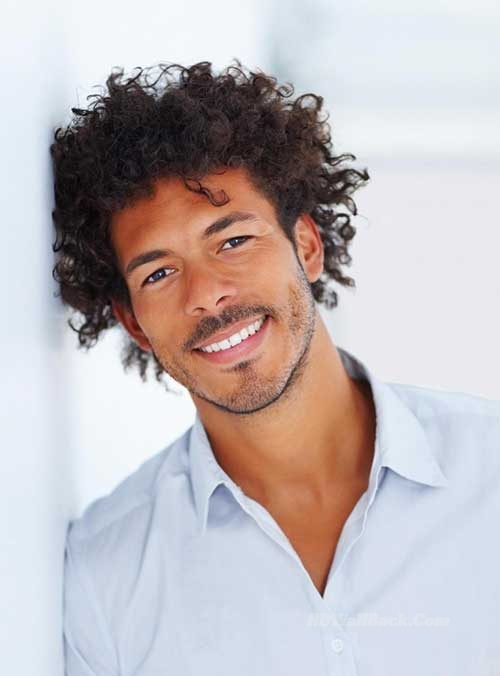 Haircuts For Black Men With Curly Hair