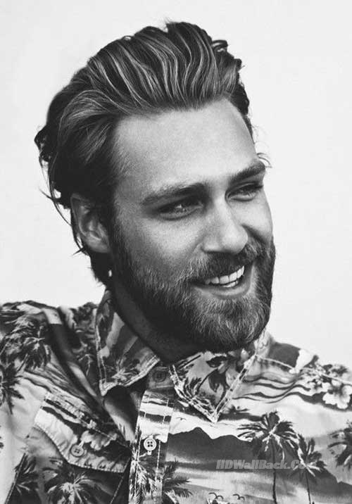 15 Best Slicked Back Hairstyles for Men