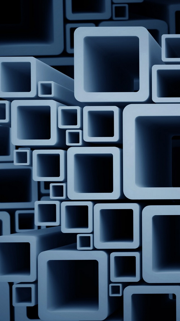 Abstract 3D Cube  iphone 6 wallpaper