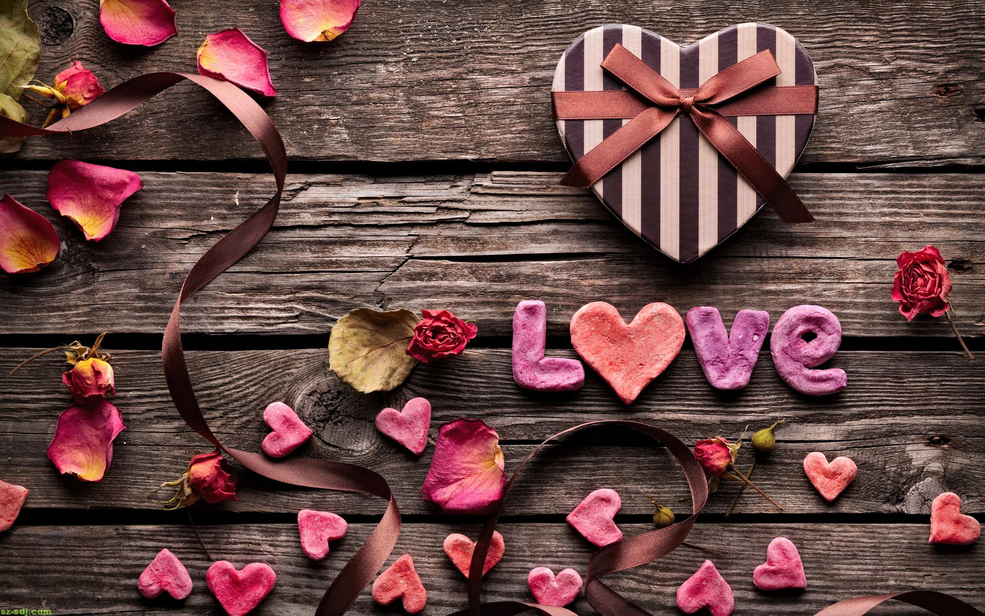 Vintage Love Nice Wallpaper HD