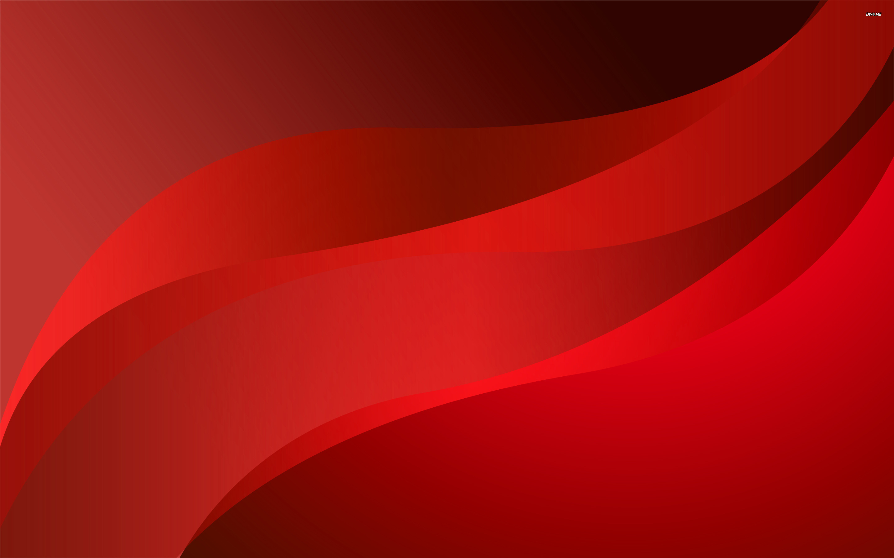 red curves abstract wallpaper