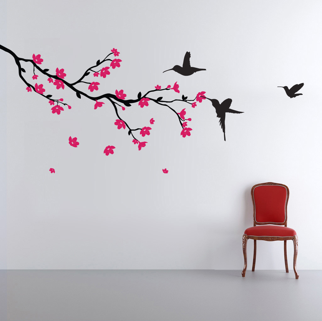 Cherry Blossom Wall Decals