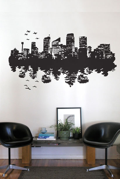 building decal city