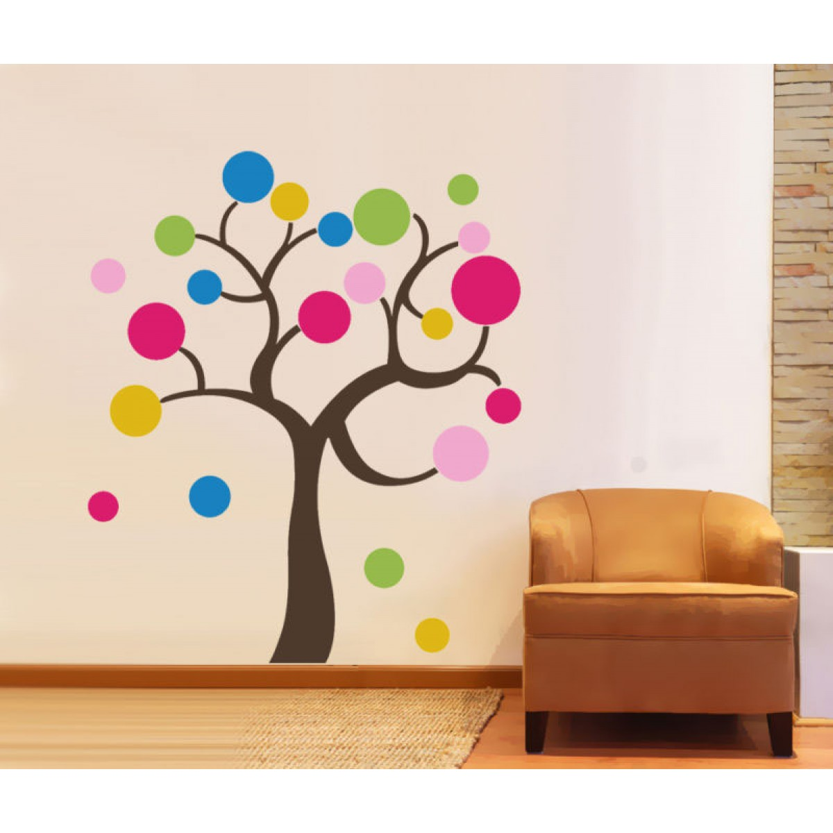 colorful-tree-wall-decal