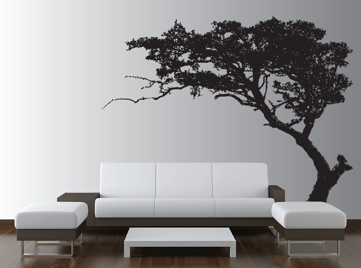 large tree wall decal living room decor