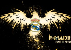 Real Madrid CF Logo wallpaper
