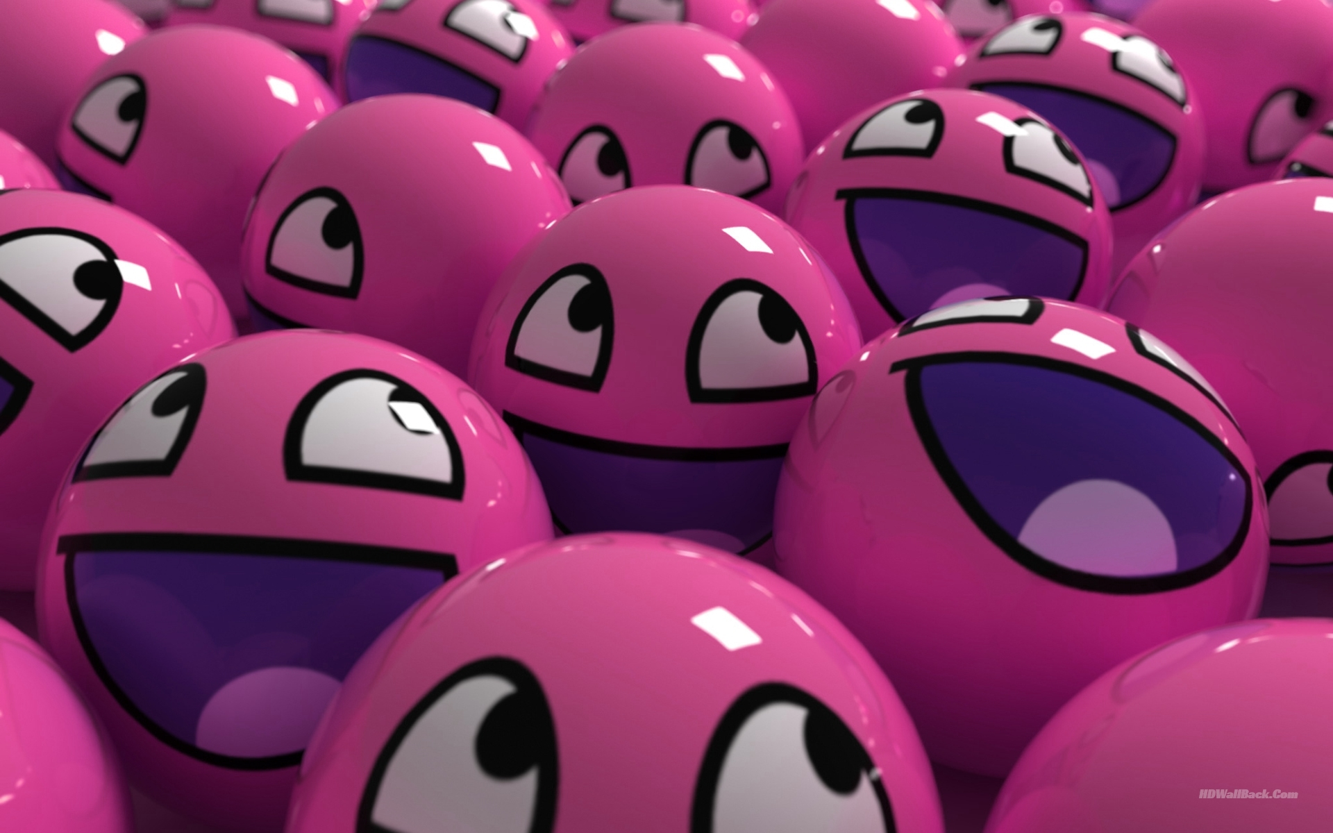 pink ball cute hd