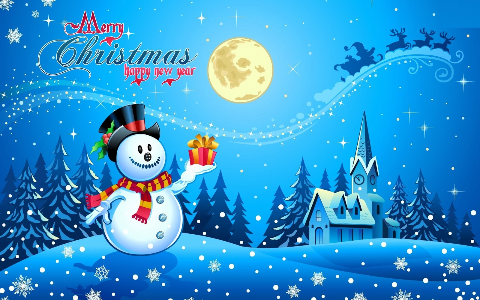 3d christmas wallpapers and desktop backgrounds