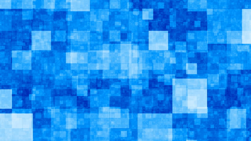 Abstract blue blocks background
