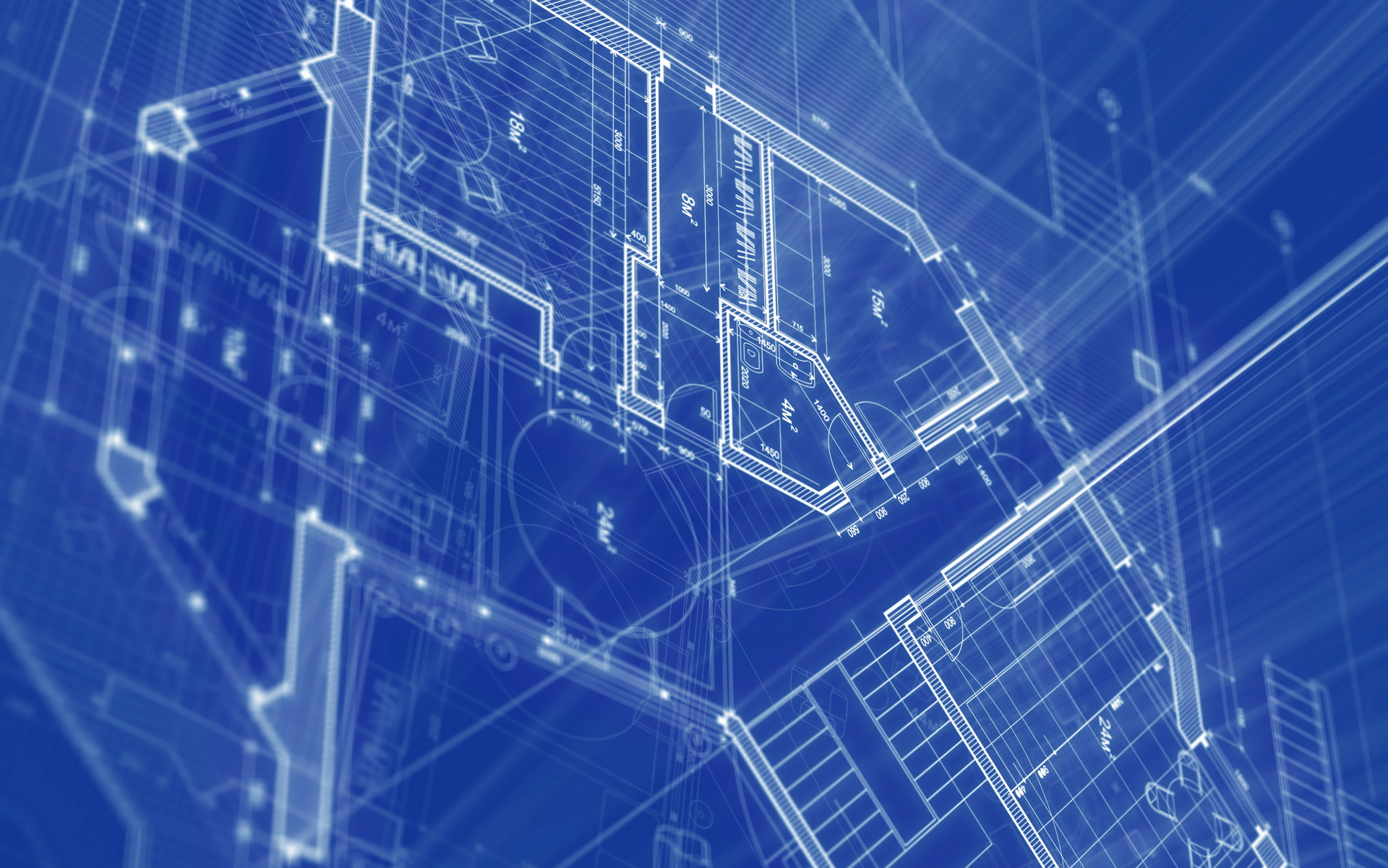 Architecture House Blueprints Wallpapers
