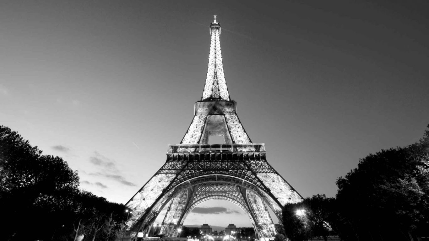 black and white paris wallpapers and desktop wallpaper