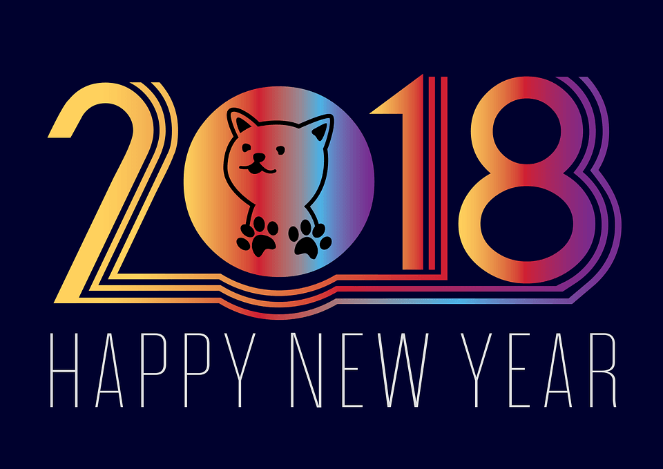 Happy New Year 2018 P Wallpaper
