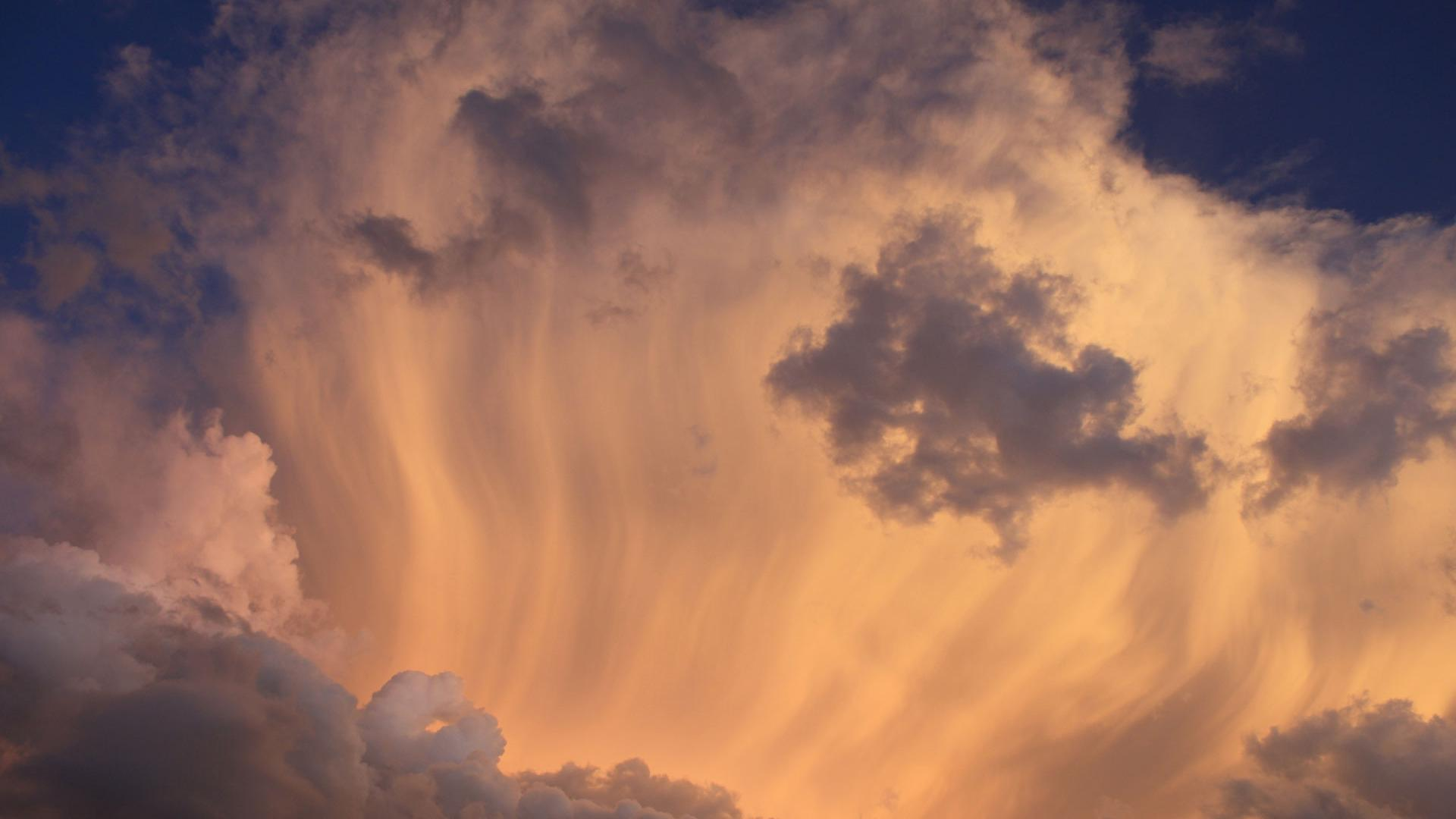 Hd sky layer close-up background
