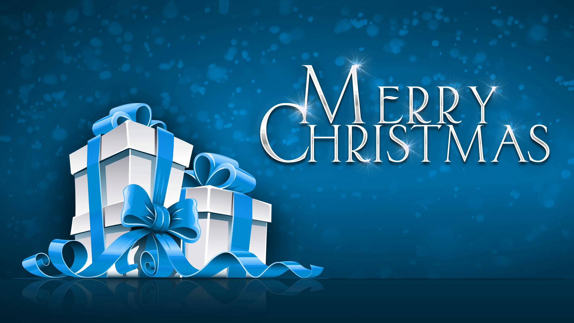Merry Christmas 1080p Widescreen HD Wallpaper