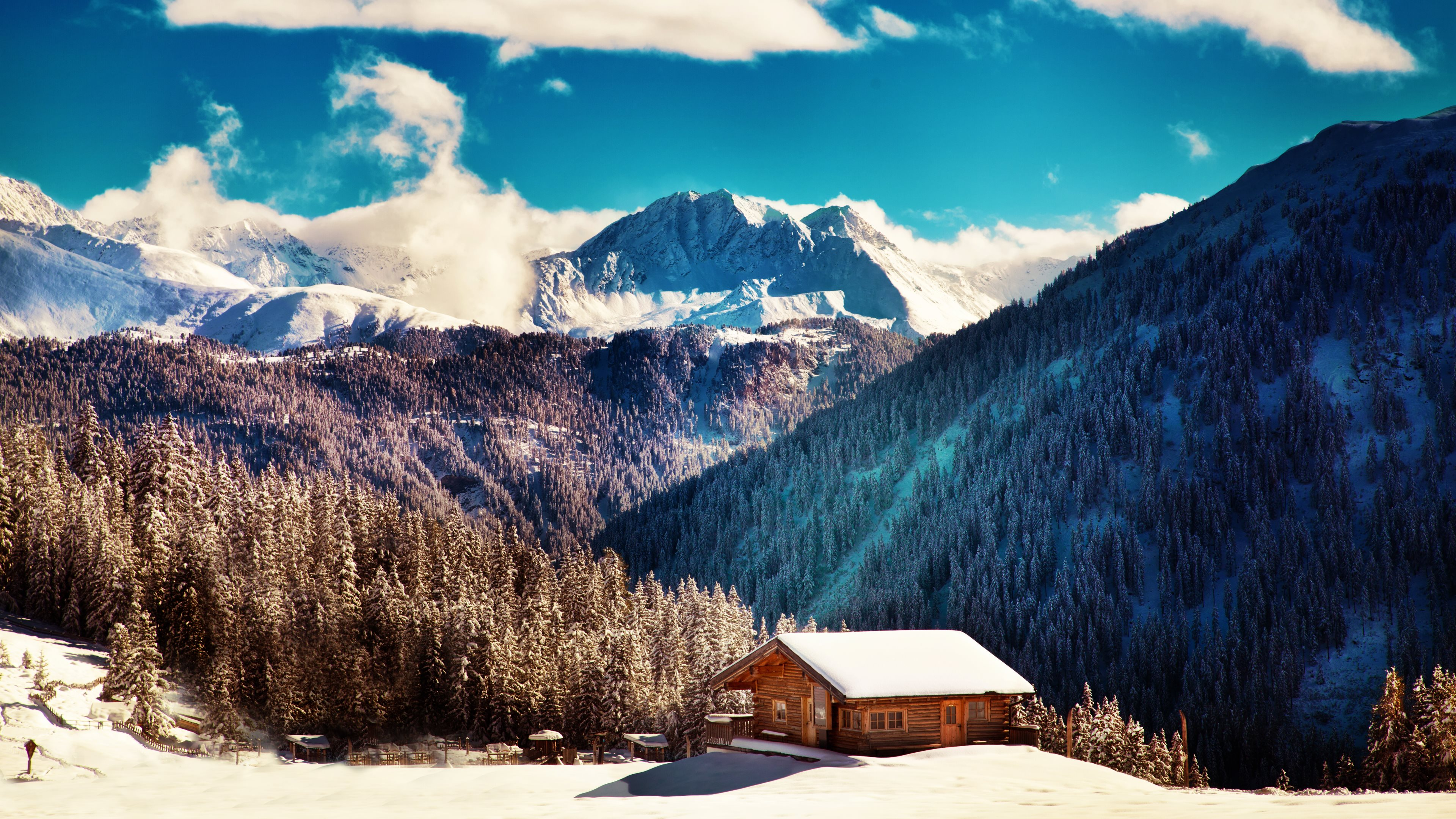 Winter landscapes from Tirol Ultra HD