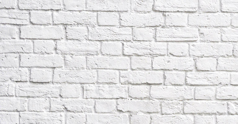brick wallpaper white