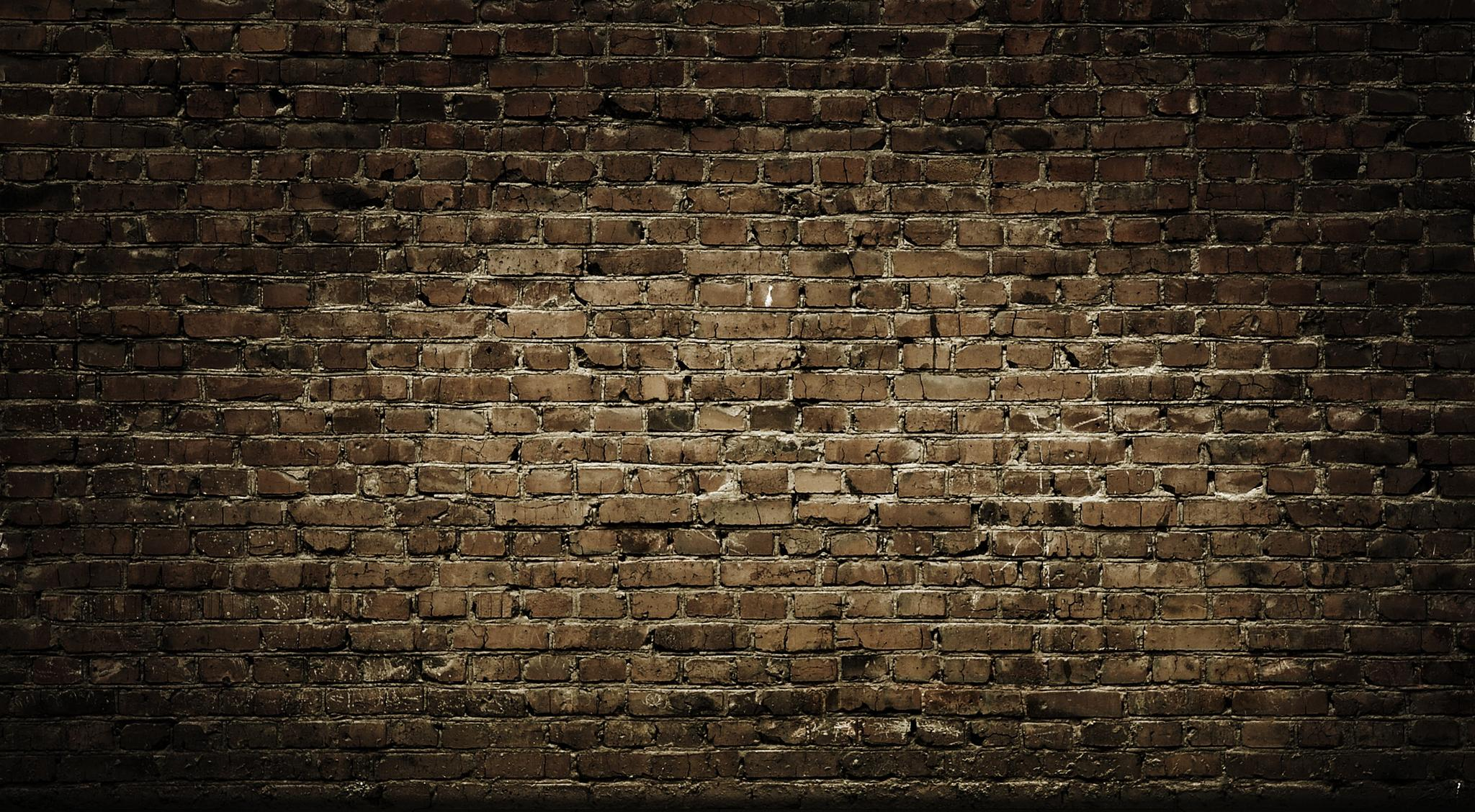 Interior with brick wall for Wall to wall wallpaper