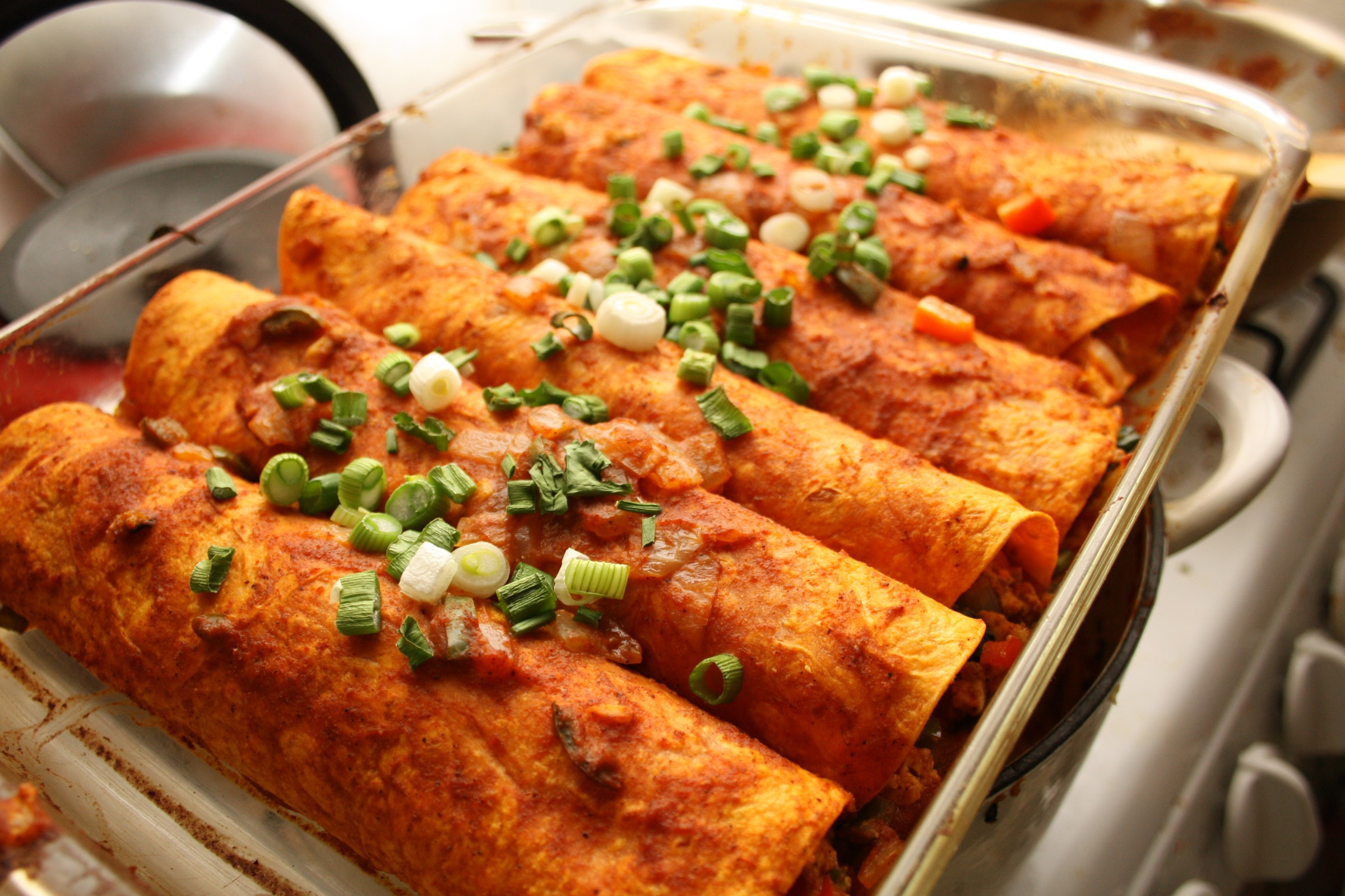 mexican food enchiladas foods free wallpaper