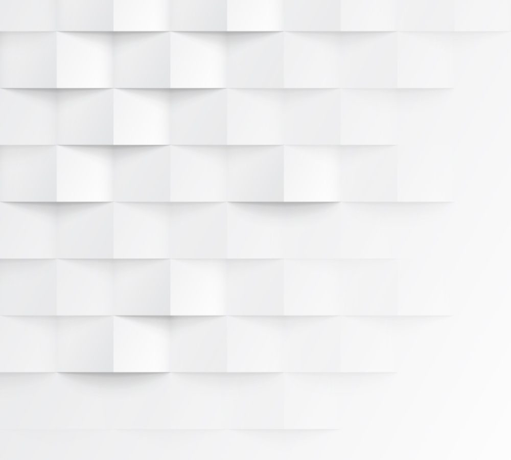 Abstract 3d white geometric background. White seamless ...