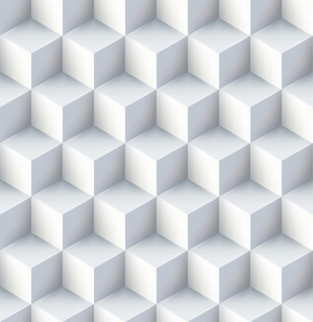 Abstract background with a 3d pattern Free Vector