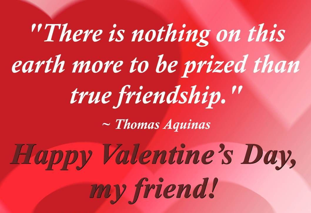 Happy Valentines Day My Friend Pictures