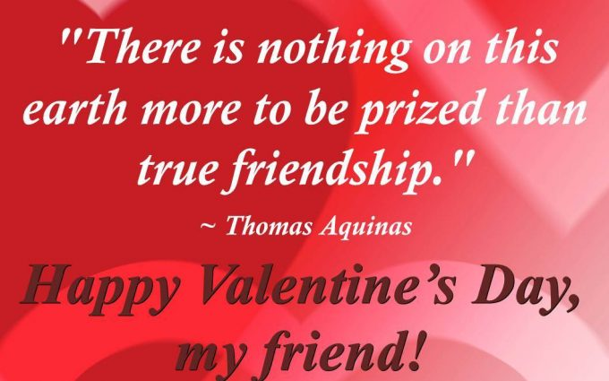 Valentines Day Quotes For Friends | HD Wallpapers , HD Backgrounds ...