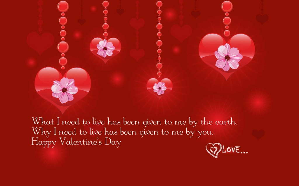 Valentines Day hd Quotes