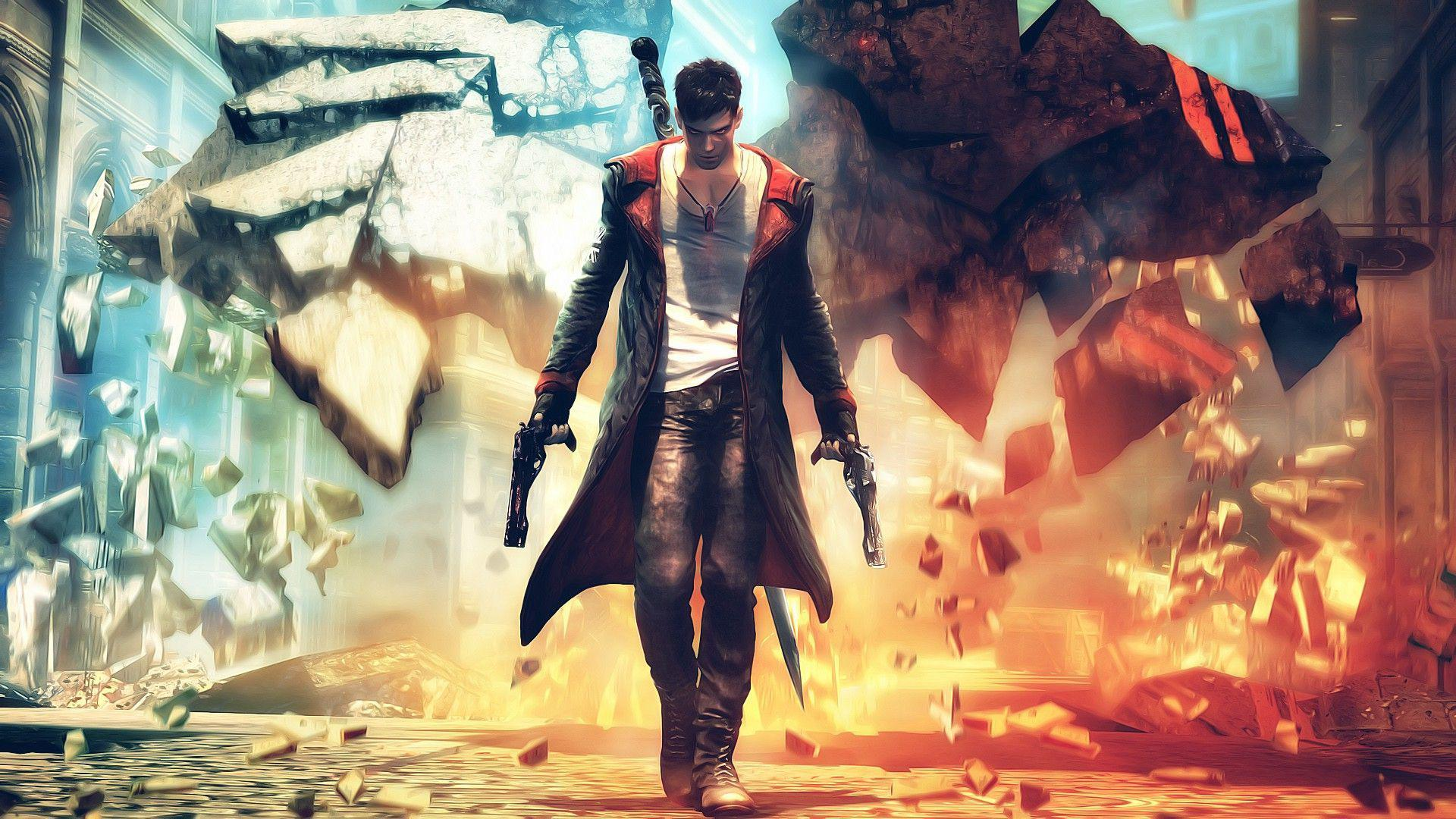 dante dmc devil may cry 1080P wallpaper