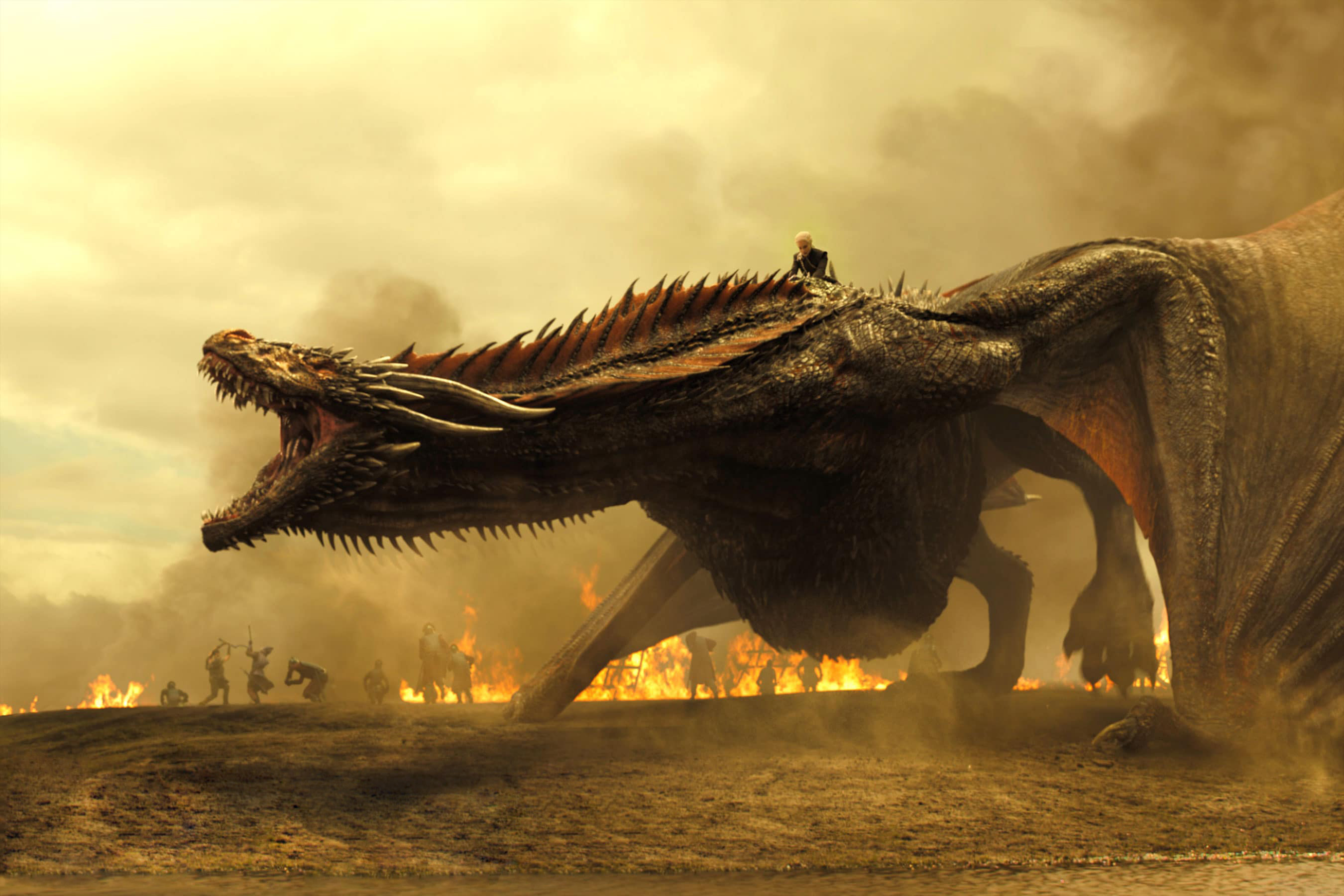 game of thrones season 7 drogon and khaleesi images