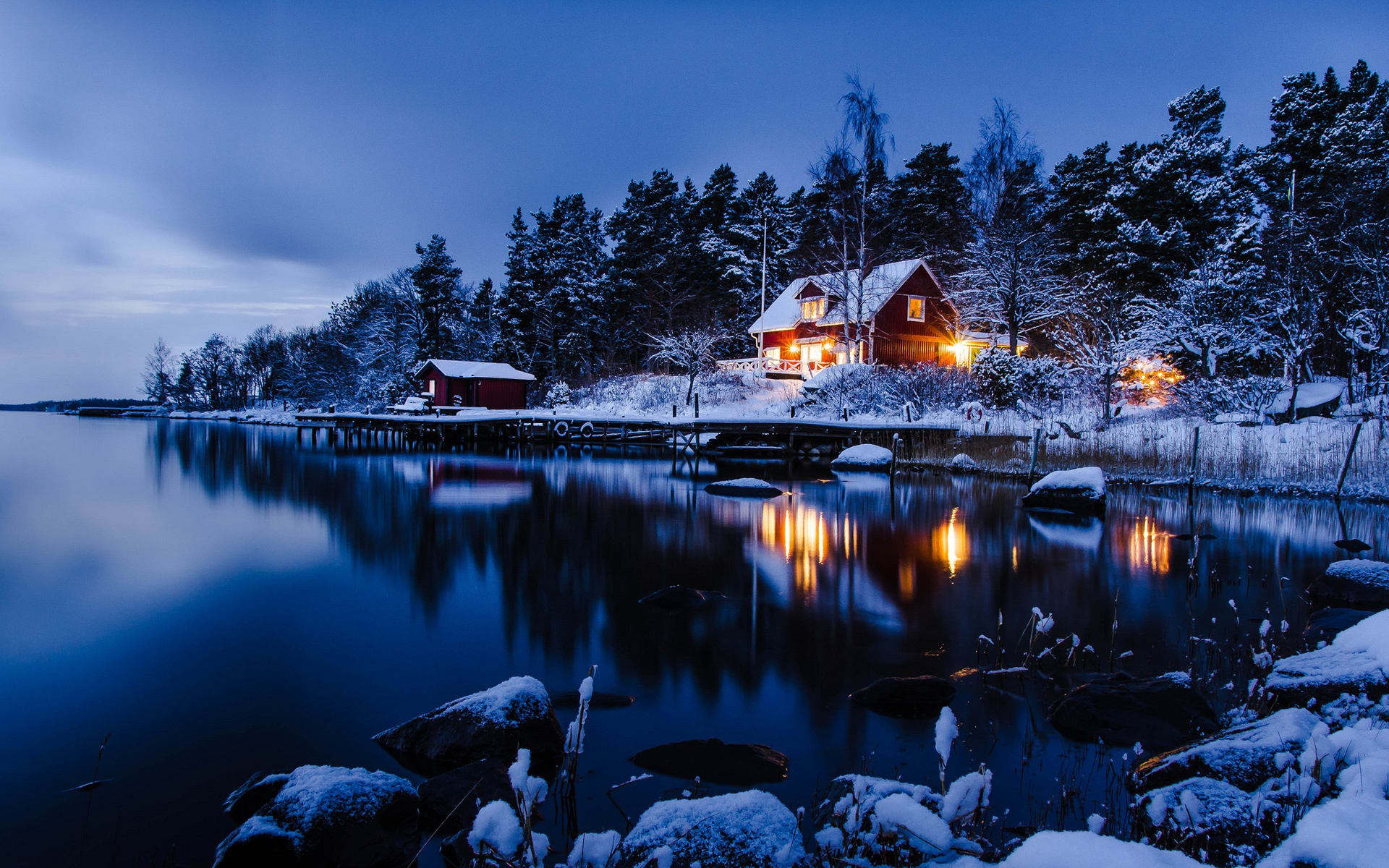 sweden landscape wallpaper