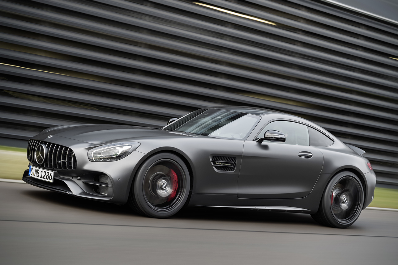 2018 Mercedes-AMG GT C Coupe Edition