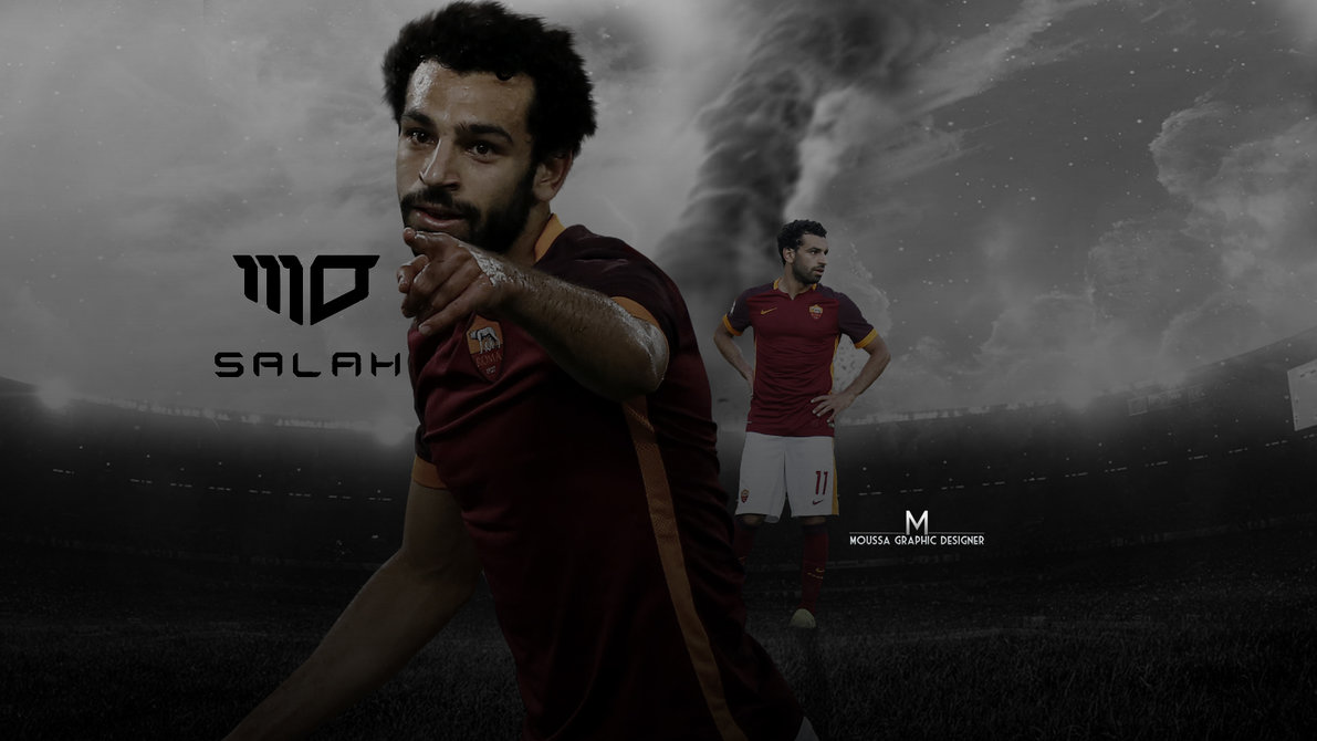 Mohamed Salah Simple Wallpaper