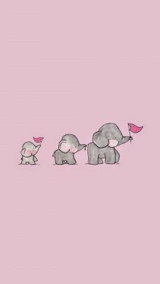 Cute Animated Pink Wallpaper Android