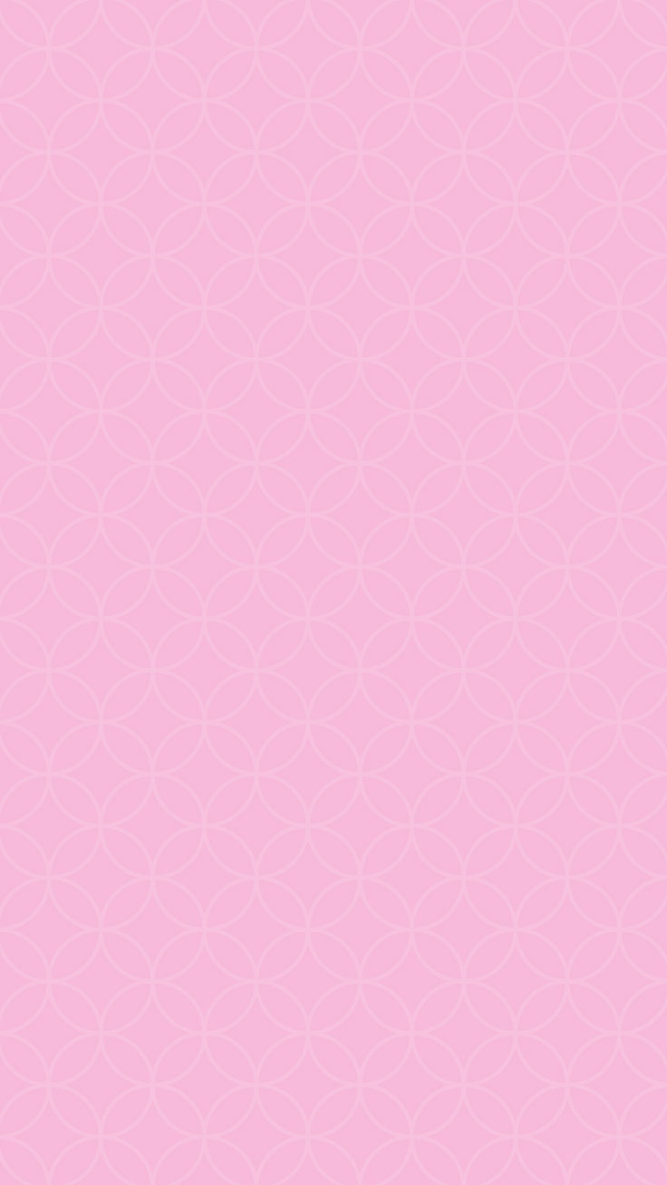 Pretty Pink Patterned iPhone Wallpaper