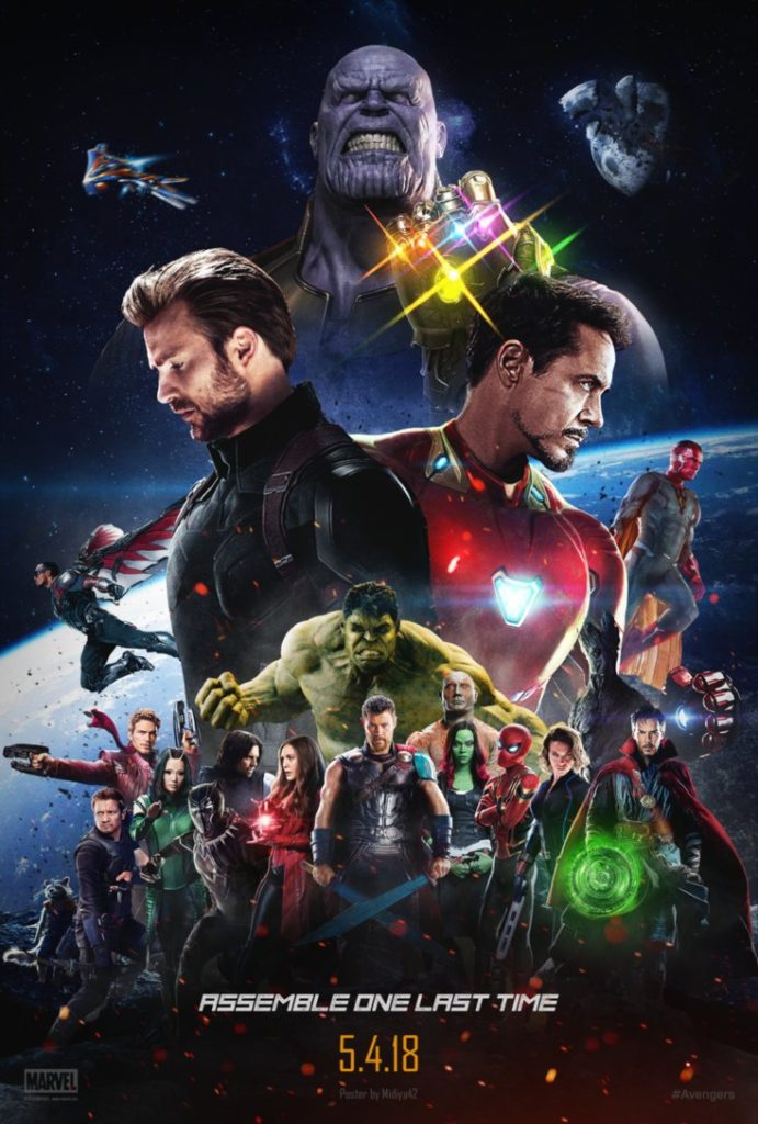 Avenger Infinity War Theatrical Poster HD Wallpapers