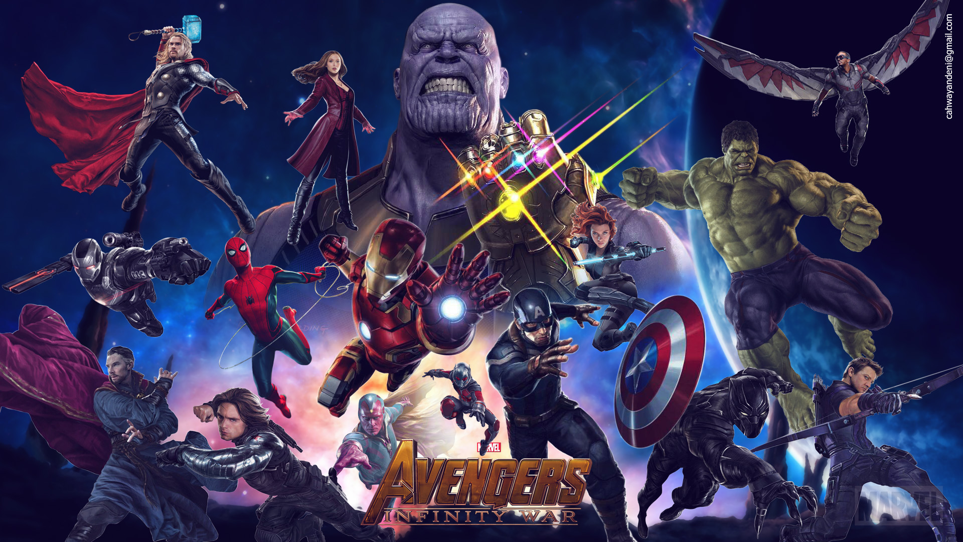 Avengers Infinity War 2018 Movie 4K Wallpapers