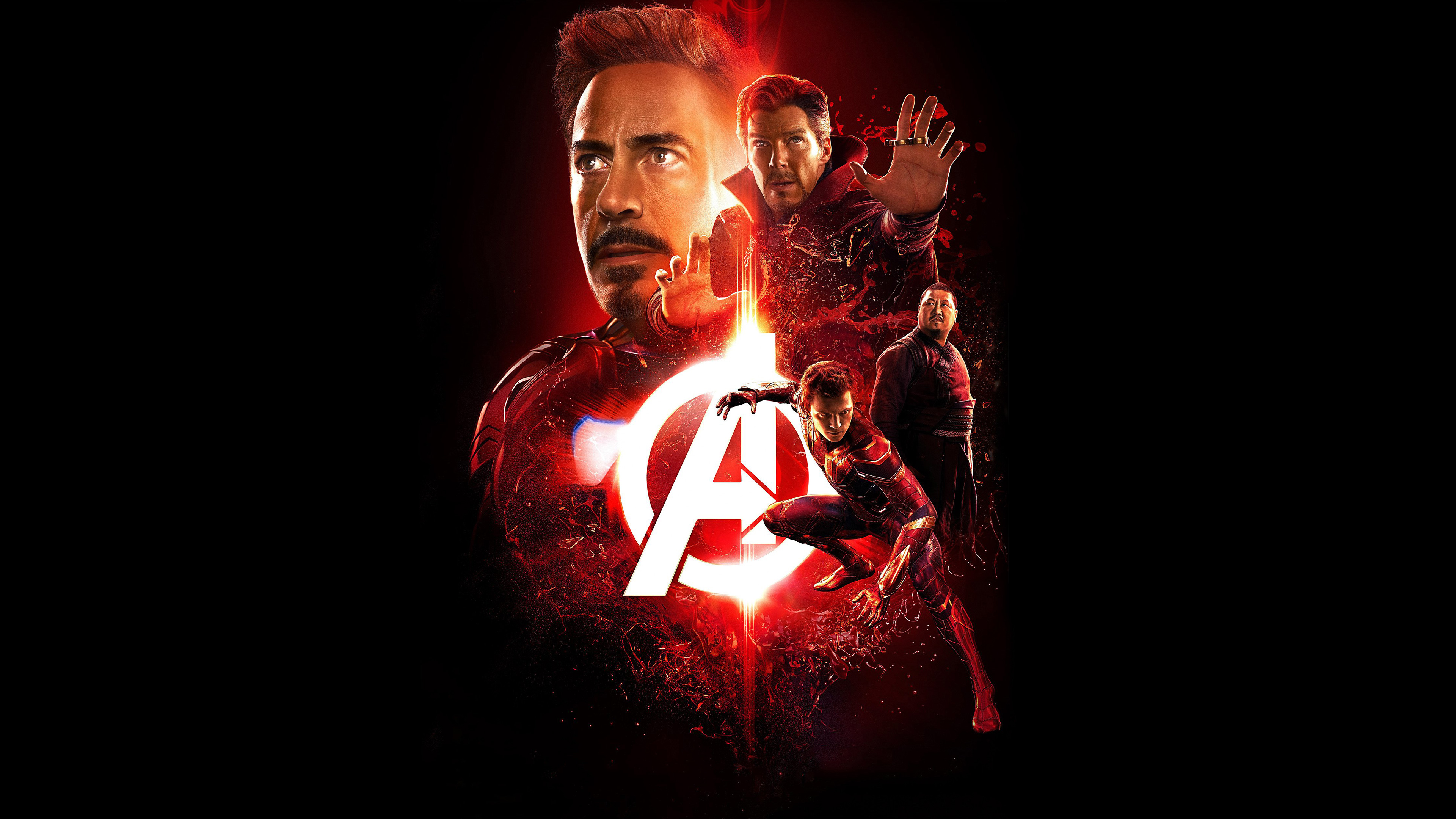 Avengers Infinity War 2018 Reality Stone Poster UHD 4k