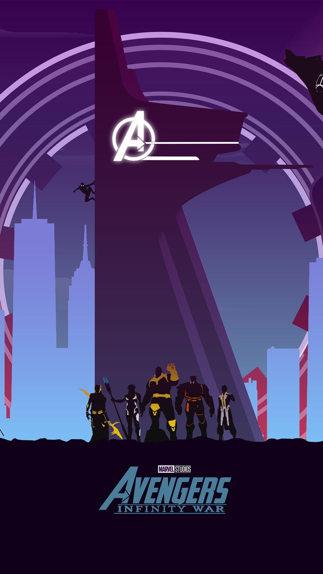 Avengers Infinity War Artwork Minimal Wallpapers