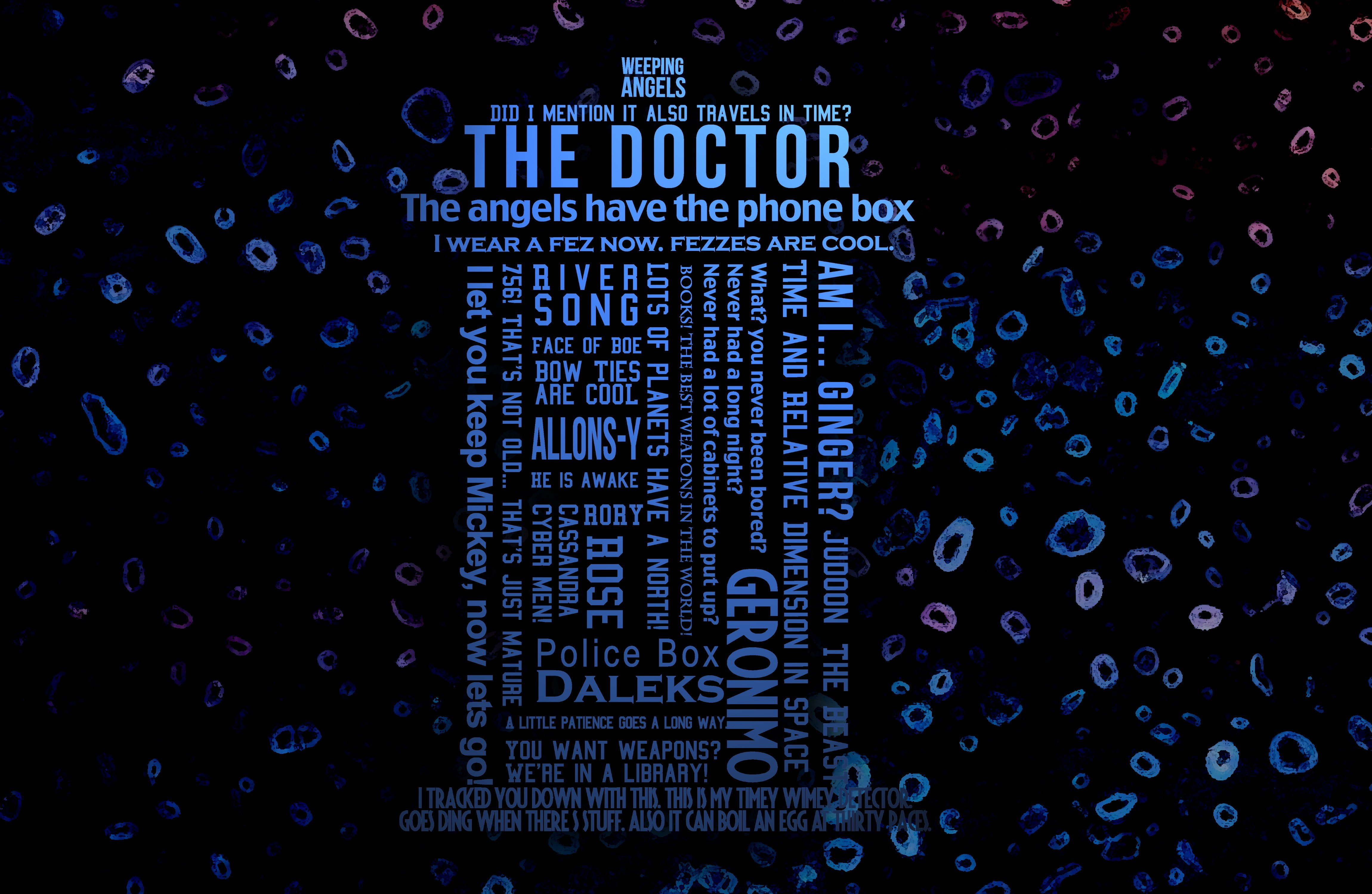 Doctor Who Tardis Wallpaper High Definition 5K 8K