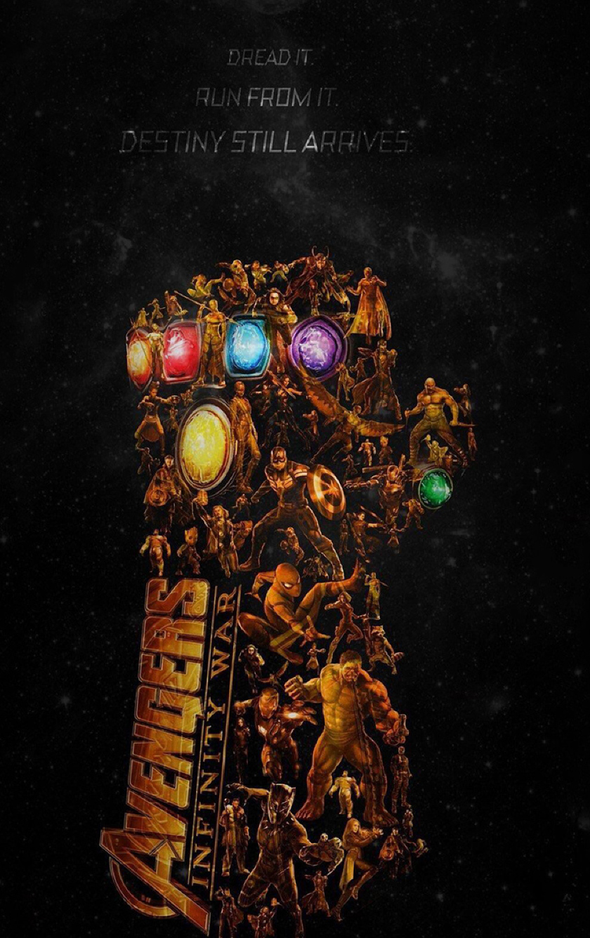 Download Avengers Infinity War Latest Poster